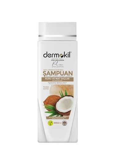 Dermokil Dermokil Hindistan Cevizli Şampuan Renksiz